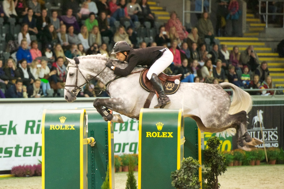 Sergio and Carlo in their FEI World Cup debut in Oslo, Norway