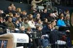 Plenty of spectators