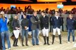 Swiss riders recieve Swiss Team Trophy