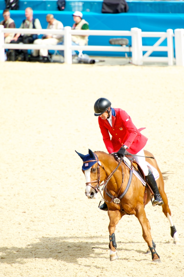 Rich Fellers and Flexible in London for the 2012 Olympic Games