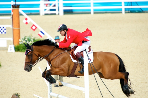 Ian Millar and Star Power in London for the 2012 Olympic Games