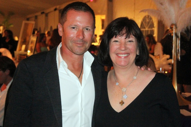 Eric Lamaze and Carlene Ziegler